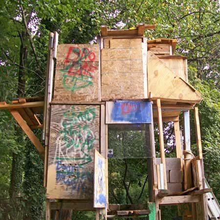 Nate's tree house