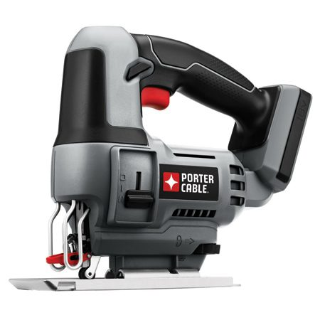 <b>Porter-Cable cordless jigsaw</b></br> Once you have the batteries, buy compatible tools without the batteries at lower cost.