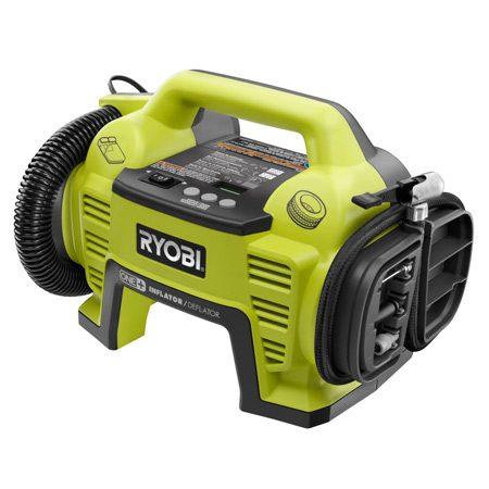 <b>Cordless Inflator/deflator</b></br> Part of Ryobi's 18-volt system