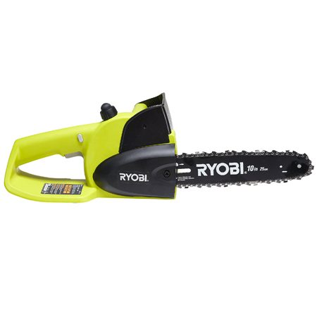 <b>Cordless Chainsaw</b></br> Part of Ryobi's 18-volt system