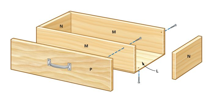 Drawer parts
