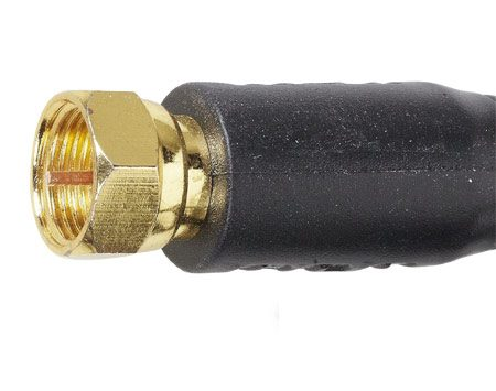 <b>Gold plated connector</b></br> Gold plating will maintain a high quality connection for a long time.