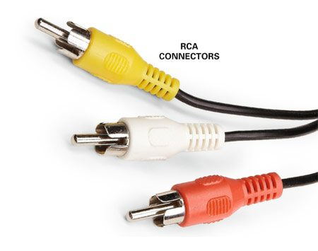 <b>RCA cables</b></br> RCA cable can't deliver high definition video.