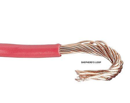 <b>Shepherd's loop</b></br> Make a shepherd's loop for screw terminal connections.