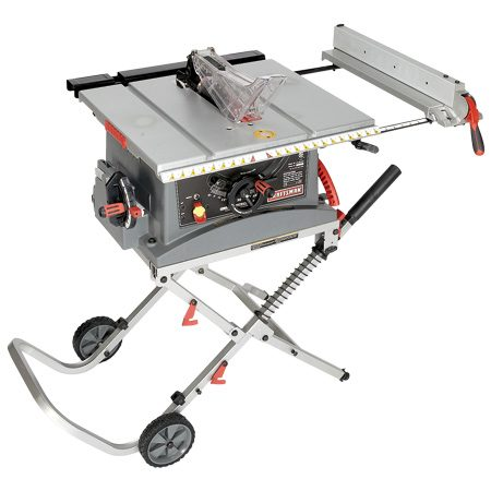 <b>Craftsman JT2502RC</b></br> This saw is compact and one of the least expensive. Cost $290