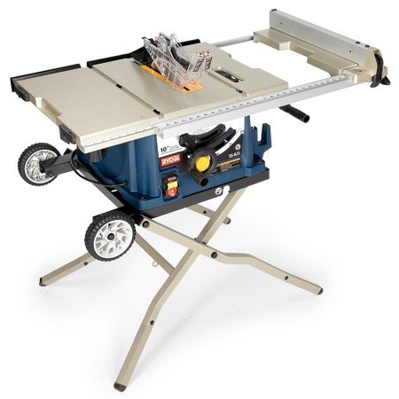 <b>Ryobi RTS30</b></br> This saw has many fine features including a sturdy stand, all at a low price. Cost: $299
