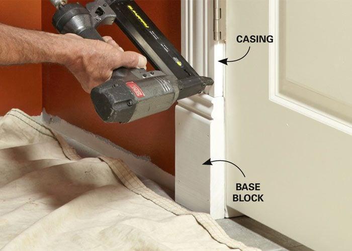 Simple Window Trim And Door Trim The Family Handyman