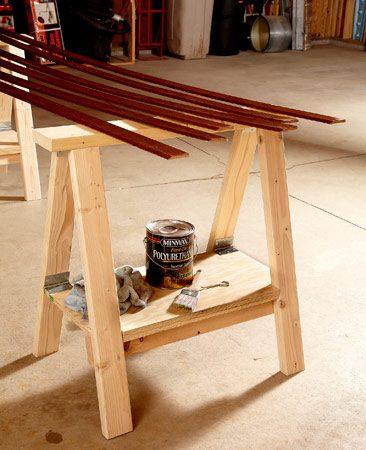 Sawhorse Plans The Family Handyman
