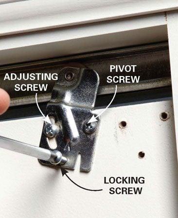 How To Adjust Bypass Closet Doors The Family Handyman