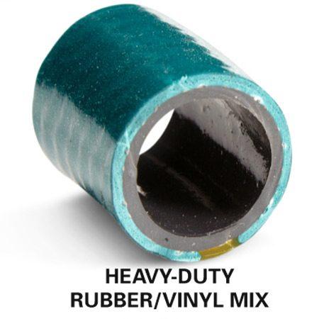 Heavy-duty rubber/vinyl mix