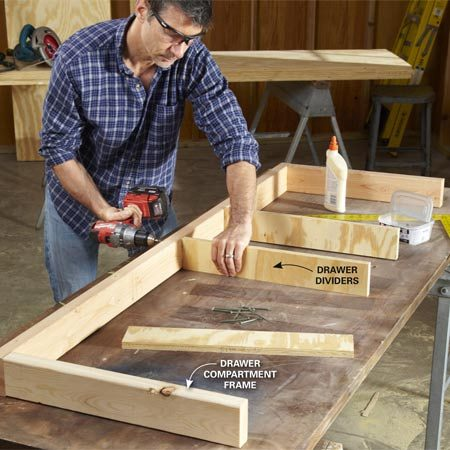Simple Workbench Plans The Family Handyman