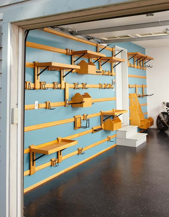 Wood Strips  Hangers  Shelves and Bins. Customizable Garage Storage   The Family Handyman
