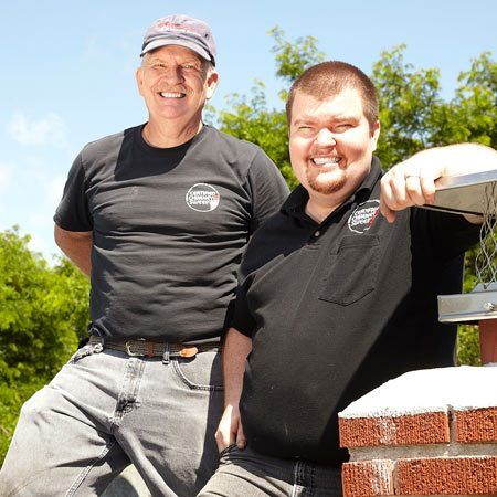 <b>Meet the pros</b></br> Jim Smart has owned Smart Sweep Chimney Service for 14 years. He and his son Jesse are certified professional chimney sweeps. Together, this father/son team inspect, clean and repair chimneys in the Minneapolis/St. Paul area. Jim also holds a certificate in forensic chimney fire analysis.