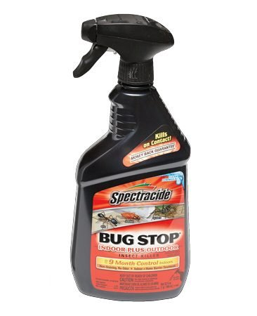 <b>Dr. Todd A. Sidel on Spectracide</b></br> I've used Spectracide Bug Stop for years. It lasts almost a year and kills all sorts of bugs. It is safe, colorless and almost odorless. It can be sprayed indoors or out, on windows and doors, on tent screens and sleeping bags too.