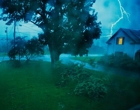 <b>Be aware of conductive paths</b><br/>Your home is probably the safest place to be in an electrical storm. But here's a safety tip you may not know. Lightning can still get to you through the conductive paths in your house; that means your wiring, your plumbing and water. Talking on a corded phone, taking a shower or bath, working on your desktop computer or handling power tools during an electrical storm isn't much safer than standing outside. It's best to stay away from all water and appliances until the storm passes. <br/>Getty Images Photographer John Churchman