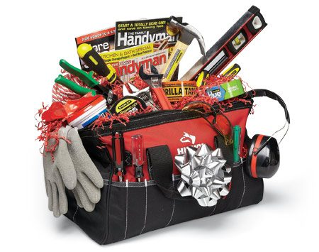 <b>Toolbox (bag) of tools</b></br> A bagful of basic tools is useful and might start a kid or adult on a productive DIY path.