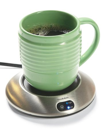 <b>Electric coffee warmer</b></br> Use it to keep your coffee, tea and hot chocolate warm while working.