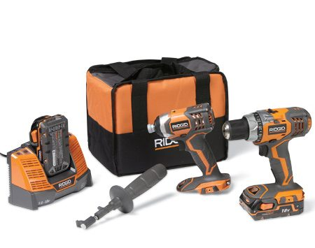 <b>Drill/driver combo kit</b></br> Combo with lithium 18-volt batteries and a great service agreement and price.