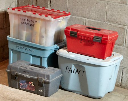 <b>Tool organization</b><br/>Organize tools by the job they need to do.