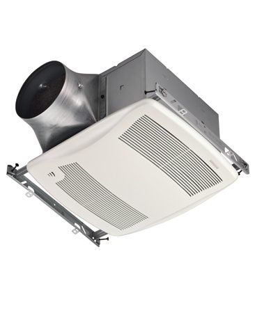 <b>Humidity-control bath fan</b></br> <p><strong>Broan's UltraSense bath fans </strong>($250  to $550) automatically   turn on when they detect humidity at the ceiling and   turn off when humidity levels fall. These fans are  available   in single- and multi-speed versions. The latter  automatically   increase their speed to remove shower steam as   quickly as possible. Models with motion sensors  increase   the fan speed automatically for humidity and odor  control   when someone enters the room. Visit <a href='http://www.broanultra.com' target='_blank' rel='nofollow'>broanultra.com</a>. </p>