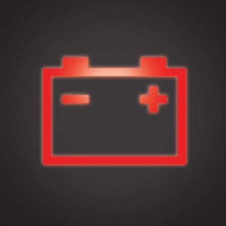 <b>Battery light</b></br> You have a battery problem. Drive to the nearest repair shop for diagnosis.