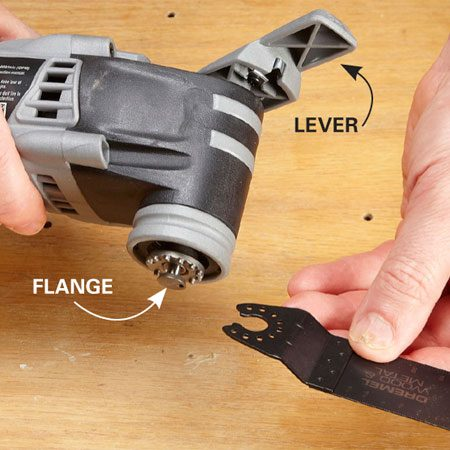 <b>Dremel</b></br> This fast, easy system is similar to the Craftsman system, except that the flange isn't removable and doesn't accept accessories from other major manufacturers.