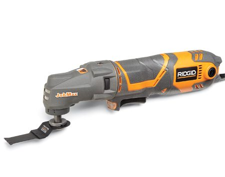 <b>Features</b></br> <ul> <li> Cost: $130</li> <li> Amps: 3</li> <li> Oscillation angle: 3</li> <li> Tool-free: No</li> <li> Web site: <a href='http://www.ridgid.com' target='_blank' rel='nofollow'>ridgid.com</a></li> </ul>