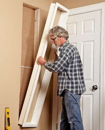 How To Make Your Own Built In Shelves The Family Handyman