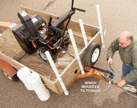 Utility Trailer Upgrades The Family Handyman