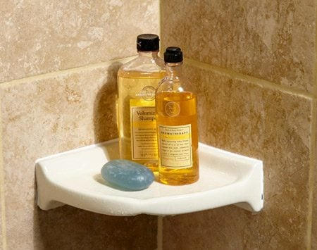 <b>Classy ceramic shelf</b><br/>Is your shower shelf full of soap crud? Do you even have a shelf in your shower? Either way, this'll class up the joint.