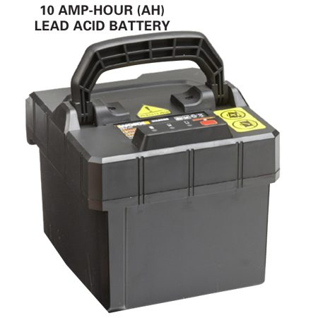 <b>Lead acid battery</b></br> They're heavier, but it might not be that big a deal.