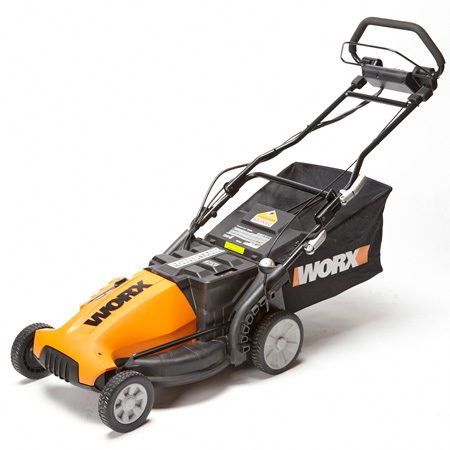 A powerful lawn mower that could easily replace a<br/> gas mower for most yards.