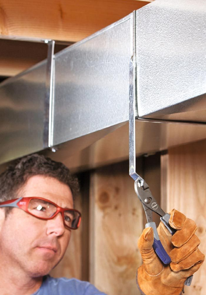 Hire a professional heating contractor to <br> design your ductwork, even if you would like<br> to do the work yourself.