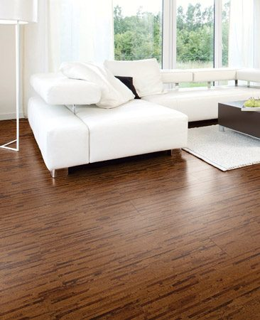 <b>Cork floor</b><br/>Interlocking cork flooring is easy to install, sustainably harvested and warm underfoot.<br/>Photo provided by TORLYS