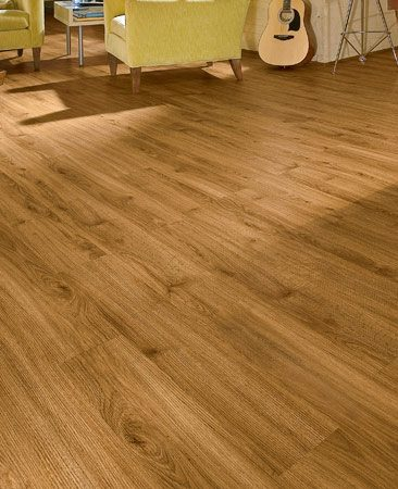 <b>Luxury vinyl floor</b><br/>Luxury vinyl is waterproof and virtually indestructible. It's also easy to install and looks great.<br/>Photo provided by Armstrong