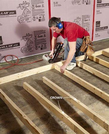 <b>Assemble the walls on the ground</b></br> It's faster and easier to assemble a wall on the ground—if you have the space!