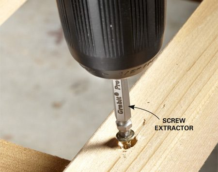 <b>Using a screw extractor</b></br> You know you'll need it. Just buy one.