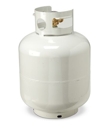 <b>Propane tank</b><br/>Keep a full propane tank handy so you can use the outdoor grill during outages.