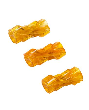 <b>In-line splice connectors</b><br/>In-line splice connectors are easy to use and take up little room in the box.