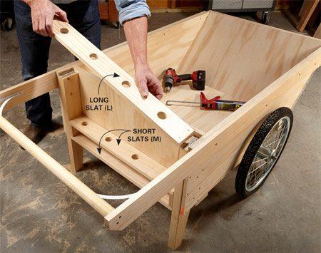 Diy Garden Cart The Family Handyman