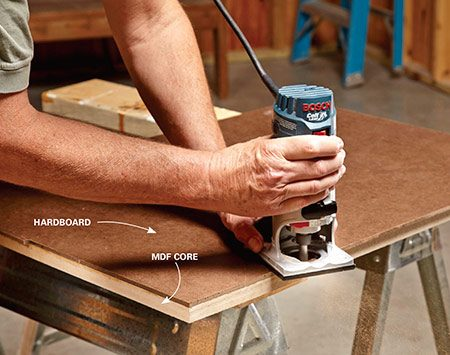 Router table plans the family handyman for How to make a router table stand