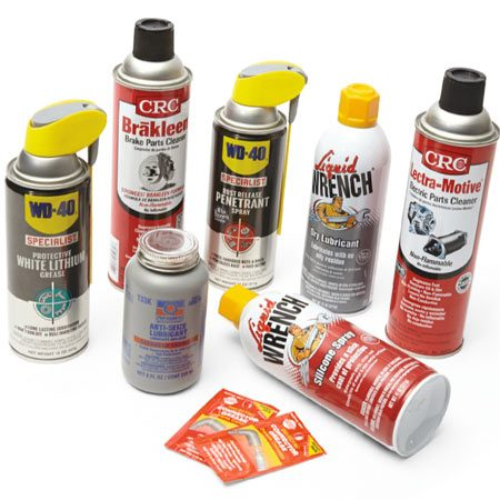 Essential cleaners and lubricants