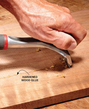 how to glue wood the family handyman. Black Bedroom Furniture Sets. Home Design Ideas