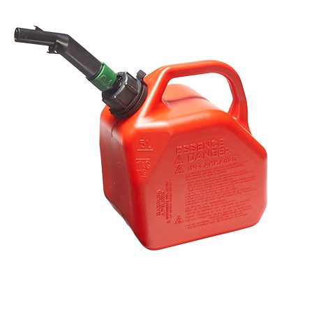 """<b>Buy smaller quantities</b></br> <p>As with any product that has a limited shelf life, you should buy only what you need for the near future. If you buy ethanol (oxygenated) gas, buy only enough gas to last for 30 days. If you buy non-oxygenated gas, limit your purchase to a 60-day supply. To find a source for non-oxygenated gas near you, go to <a href=""""http://pure-gas.org/"""" title=""""pure-gas.org"""" target=""""_blank"""">pure-gas.org.</a></p>  <p>With either type of gas, use a container that's sized for the amount you'll buy. Storing 2 gallons in a 5-gallon container leaves you with 3 gallons of air, causing the gas to spoil faster - even if it's been treated with fuel stabilizer. Add the old gas in small quantities to your car or take it to the recycling center.</p>"""