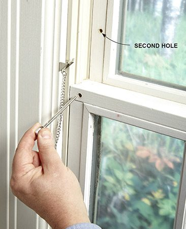 Pin lock for window