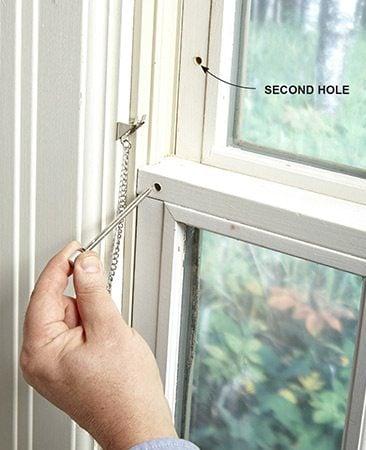 Pin lock for window