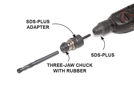 Sds plus chuck adapter