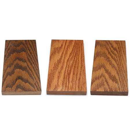 <b>Prevent regrets</b></br> <p>The very best way to avoid wood finishers' remorse is to test your finishes on wood scraps of the same species as your masterpiece. Sand the scraps in exactly the same way you sand the table: Sanding lighter or harder or using different grits will change the look of any finish you apply.</p>