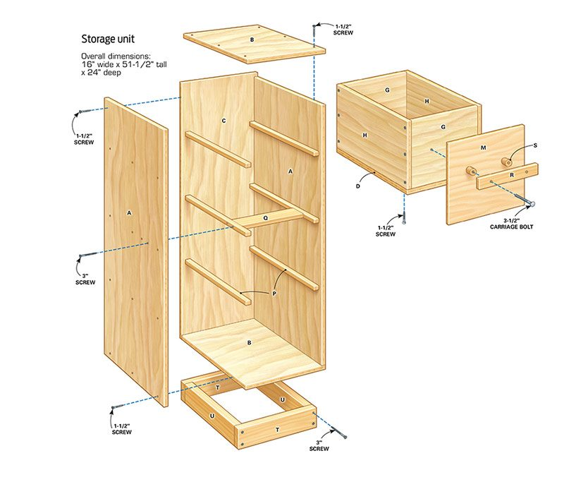 DIY Garage Storage: Super Sturdy Drawers | The Family Handyman