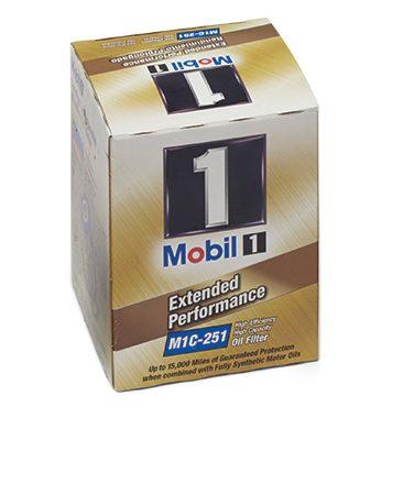 Premium oil filter.